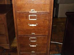 Antique Wood File Cabinet Oak Filing Cabinet 4 Drawer File Cabinet Vertical Filing Cabinets