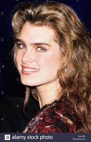 brooke shields stock photo royalty free image 62367043 alamy