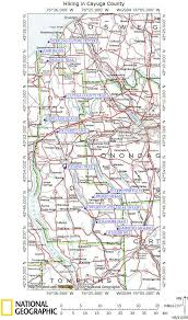 Cayuga County Map Map Of Cayuga County Hiking