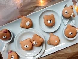 gingerbread bear macarons u2014 fix feast flair