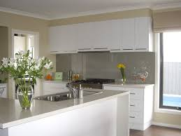 pretentious white solid wood kitchen cabinet with stainless stell