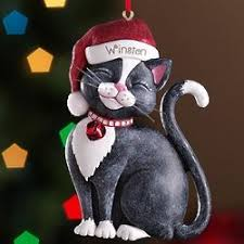 123 best cat ornaments images on holidays
