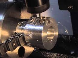 making a rotary table making graduated handwheels with splines on a cnc 4th axis rotary