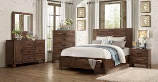 Metal Bedroom Dresser Bedroom Design 4 Pc Rustic Wood Finish King Bed Dresser