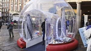 world s largest snow globe can fit humans