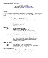 Example Of A Nursing Resume by 29 Resume Templates Free U0026 Premium Templates