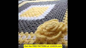 free pattern granny square afghan crochet granny square afghan patterns youtube