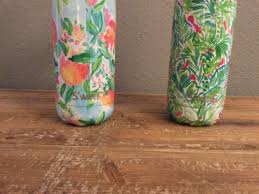 starbucks limited edition lilly pulitzer swell bottle peaches