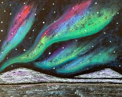 how to paint northern lights kathy s angelnik designs art project ideas northern lights winter