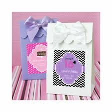 personalized goodie bags personalized favor bags candy boxes set of 12