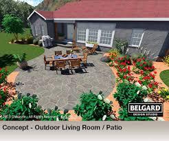 Home Design 3d Not Working Belgard Design Studio 3d Landscaping Rendering