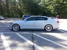 lexus gs 350 tire size should i go 20 without droppin or 19 wheels and drop it 11