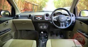 Honda Brio Smt Interior Honda Amaze 1 2 S Mt I Vtec Petrolprice In India Review Pics