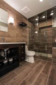 Wood Bathroom Ideas Best 25 Wood Tile Shower Ideas On Pinterest Rustic Shower Wood