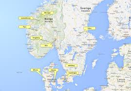 Norway World Map by Family Travel Norway With Kids