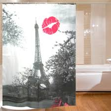 Eiffel Tower Window Curtains by Aliexpress Com Buy Eiffel Tower Design Shower Curtain Bathroom