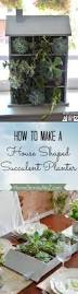 How To Make A Succulent Planter by How To Make A House Shaped Planter Home Stories A To Z