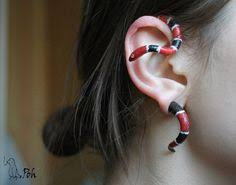 badass earrings wooden snake plugs snake piercings and gauges