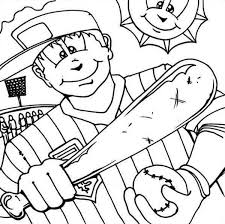 major league baseball player coloring page download u0026 print