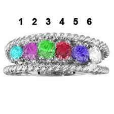 6 mothers ring mothers ring sterling silver 6 4196 goldfingers gifts
