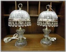 waterford crystal crystal table lamp foter