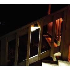 Led Solar Deck Lights - solar led porch deck light kit 2 led deck lights dc solar