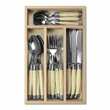 Laguiole Kitchen Knives 24 Cutlery Set Cutlery Dining Room
