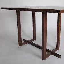walnut breakfast bar table wood bar furniture and modern dining tables