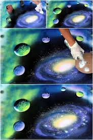 Outer Space Decorations 88 Best Wall Art Images On Pinterest Diy Wall Art Painting And Diy
