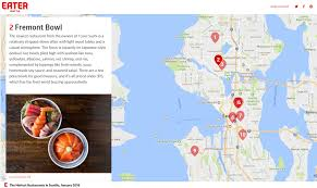 seattle map restaurants press a few words from the community fremont bowl seattle