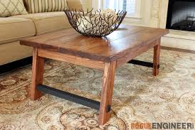 Wood Coffee Table Plans Free by Angled Leg Coffee Table Free Diy Plans Rogue Engineer