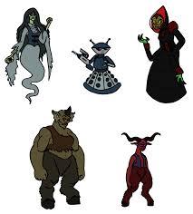 monster challenge 16 through 20 by tyrantisterror on deviantart