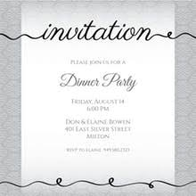 dinner invitation free dinner party invitation templates greetings island