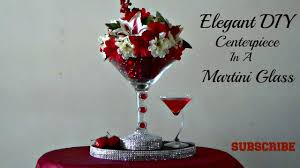 martini glass centerpieces diy dollar tree centerpiece in a martini glass