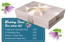 Wedding Dress Box Future Clothes Care Cardiff Bay Wedding Services