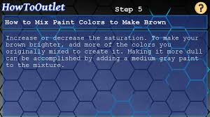 how to mix paint colors to make brown youtube
