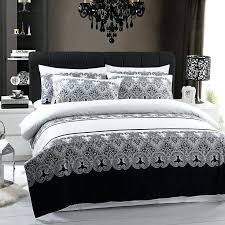 Black And White King Size Duvet Sets Black And White Duvet Covers King Size Grey Cover Grey And White