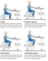 office chair bar stool height guide to choosing the right kitchen counter stools clever tables