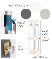 what is the best type of paint to use on kitchen cabinets how to paint a door my best tips for painting interior