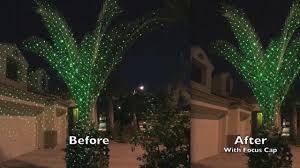 motion laser christmas lights sparkle magic laser light focus cap youtube