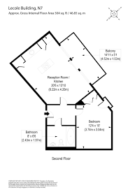 Floor Plan Scale Calculator by 1 Bedroom Property For Sale In L U0027ecole Building 30 36 Hornsey