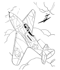 fighter aircraft drawings amd coloring sheets bell 39 airacobra