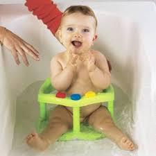 siège de bain pour bébé babymoov anneau de bain vert doudouplanet