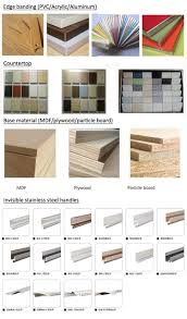 kitchen cabinet laminate sheets factory price high gloss finish red kitchen cabinet laminate sheet