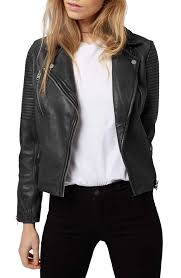 leather motorcycle jacket topshop u0027orbit u0027 leather moto jacket nordstrom fashion