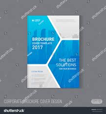 cover report template corporate brochure cover design template layout stock vector corporate brochure cover design template layout good for catalog annual report poster or