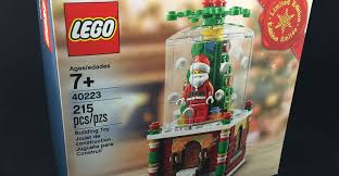 legos black friday exclusive lego snowglobe for black friday u2013 brick dave