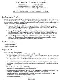 Sample Resume Finance Manager by Linux System Administration Sample Resume 20 Sample Linux System