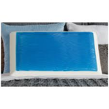 gel bed pillows amazon com sealy memory foam hydraluxe gel bed pillow home kitchen