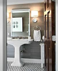 Gray And White Bathroom - 34 best powder room images on pinterest home bathroom ideas and